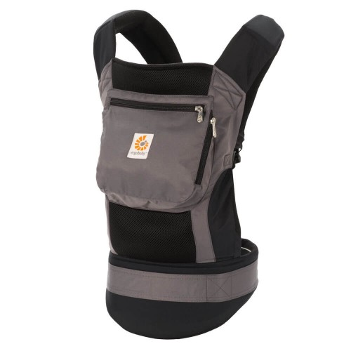 Portabebés Ergonómico Ergobaby Original Cool Air Mesh Charcoal Black