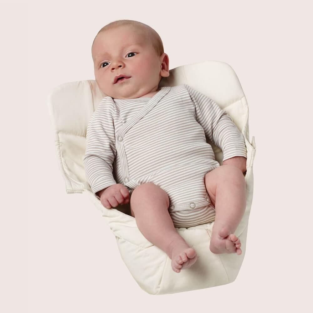 Accesorio Inserto Recién Nacido Easy Snug Natural para Portabebés Ergobaby 360 y Original