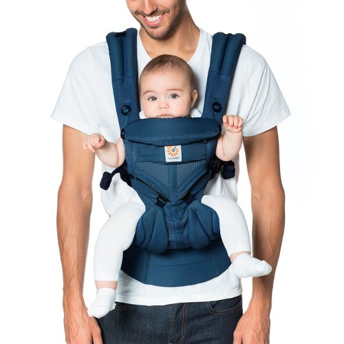 Portabebés Ergonómico Ergobaby Omni 360 Cool Air Mesh Midnight Blue