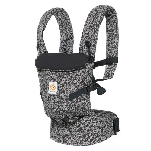 Portabebés Ergonómico Ergobaby Adapt Keith Haring Black