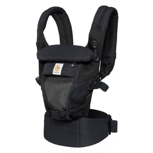 Portabebés Ergonómico Ergobaby Adapt Cool Air Mesh Onyx Black